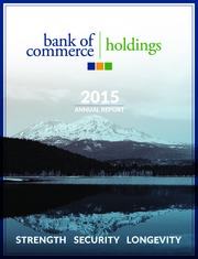 Bank of Commerce Holdings