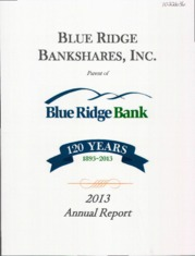 Blue Ridge Bankshares, Inc.