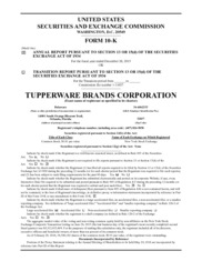 Tupperware Brands Corporation