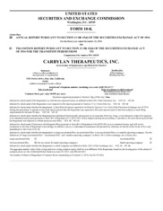 Carbylan Therapeutics Inc