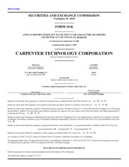 Carpenter Technology Corp.