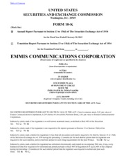 Emmis Communications Corp.