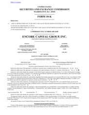 Encore Capital Group Inc.