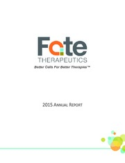 Fate Therapeutics