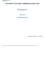 HCI Group Inc