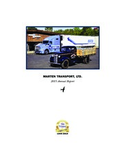 Marten Transport Ltd.