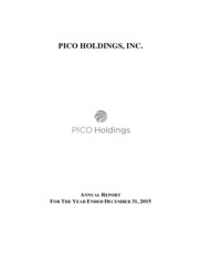 PICO Holdings Inc.