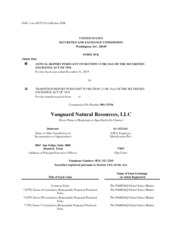 Vanguard Natural Resources, LLC