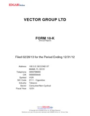 Vector Group Ltd.