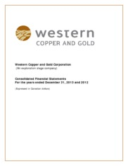 Western Copper Corporation