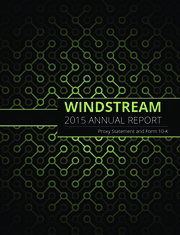 Windstream Holdings, Inc.