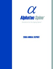 Alphatec Holdings Inc