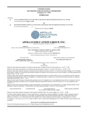 Apollo Group Inc.