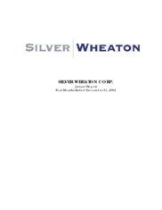 Wheaton Precious Metals Corporation