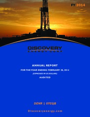 Discovery Energy Corp.