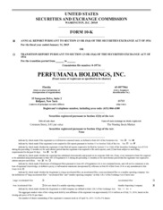 Perfumania Holdings, Inc.