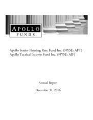 Apollo Senior Floating Rate Fund Inc.
