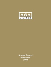 ASA Gold and Precious Metals Limited