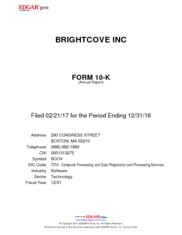Brightcove Inc