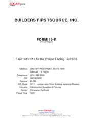 Builders FirstSource, Inc.