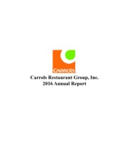 Carrols Restaurant Group Inc.