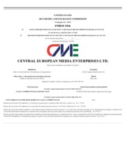 Central European Media Enterprises Ltd.