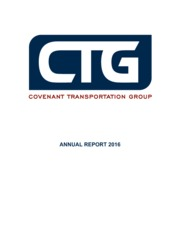 Covenant Transportation Group, Inc.
