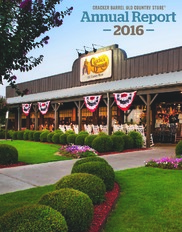 Cracker Barrel Old Country Store, Inc  - AnnualReports com