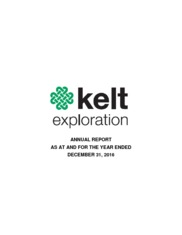 Kelt Exploration