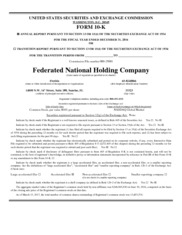 Federated National Holding Co