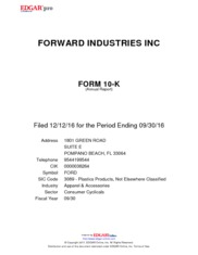 Forward Industries Inc.