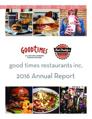Good Times Restaurants Inc.