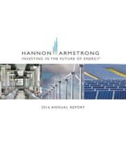 Hannon Armstrong Sustainable Infrastructure Capital, Inc.