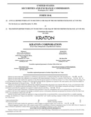 Kraton Performance Polymers Inc.