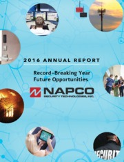 Napco Security Technologies, Inc.