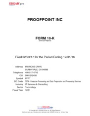 Proofpoint Inc