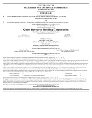 Quest Resources Holdings