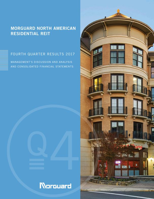 Morguard North American Residential Real Estate Investment Trust