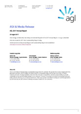AGL Energy Limited