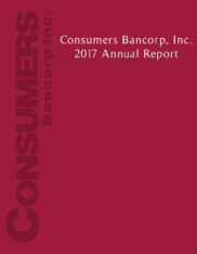Consumers Bancorp, Inc.