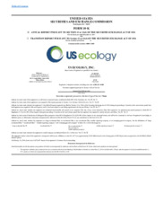 US Ecology, Inc.