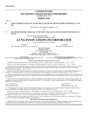 Luna Innovations Incorporated