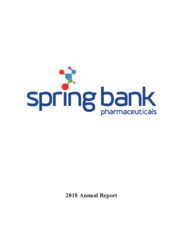 Spring Bank Pharmaceuticals, Inc.