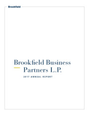 Brookfield Business Partners L.P.