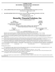 Donnelley Financial Solutions, Inc.