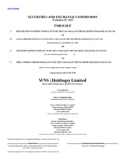WNS (Holdings) Limited