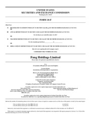 Fang Holdings Limited