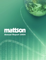 Mattson Technology Inc.