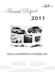 China Automotive Systems, Inc.