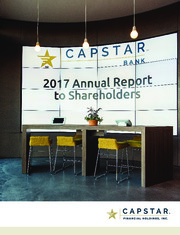 CapStar Financial Holdings, Inc.